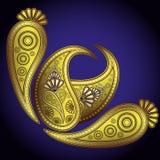 Diseños de Paisley. ilustración del vector