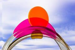 Diseños de Sun del patio Imagen de archivo libre de regalías