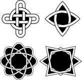 Diseños del Celtic Imágenes de archivo libres de regalías