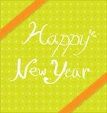 Diseños del fondo del Año Nuevo Fotografía de archivo