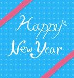 Diseños del fondo del Año Nuevo Fotos de archivo