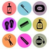 Diseños del icono de la higiene ilustración del vector
