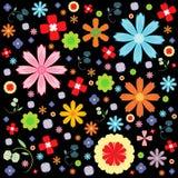 Diseños del modelo del vector de la flora Foto de archivo libre de regalías
