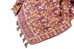 Diseños del persa en tela Imagen de archivo libre de regalías