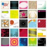 Diseños del vector Imagen de archivo libre de regalías