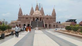 Diseños hindúes del arco del templo de dios Fotos de archivo