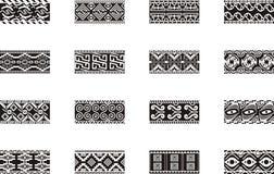 Diseños mexicanos del ornamental Imagen de archivo libre de regalías