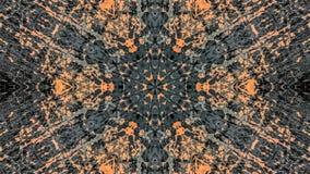 Dise?o abstracto del gris y del grunge rayado anaranjado libre illustration