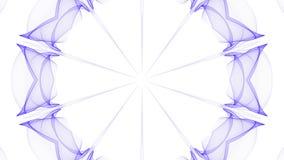 Dise?o abstracto purpurino de la llama stock de ilustración