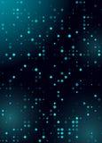 Dise?o azul brillante del Rhombus de semitono que brilla intensamente para el club, partido, invitaci?n de la demostraci?n Fondo  ilustración del vector