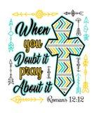 Dise?o cristiano con la cruz libre illustration