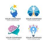Dise?o de Brain Logo libre illustration