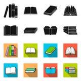 Dise?o del vector de icono de la biblioteca y del libro de texto Fije del icono del vector de la biblioteca y de la escuela para  libre illustration