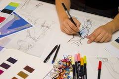 Diseñador de moda Imagenes de archivo