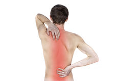 Free Disease Of The Spine The Guy Royalty Free Stock Image - 24087796