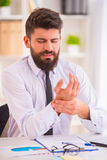 Disease in the office Stock Images
