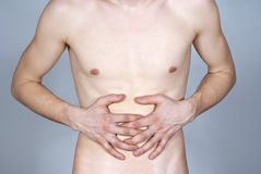Disease of the stomach Stock Image