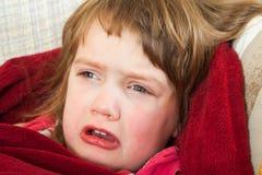 Diseased girl Stock Photos