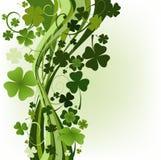 Diseñe para el día del St. Patrick Fotos de archivo libres de regalías