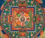 Disegnando al monastero di Thikse Fotografia Stock Libera da Diritti
