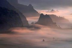 Disegnando con il light_Thailand Fotografia Stock