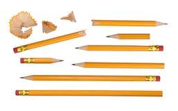 Disegnano a matita l'accumulazione Immagini Stock
