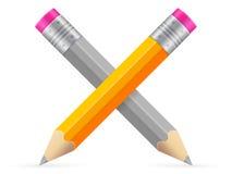 Disegnano a matita l'icona Fotografia Stock