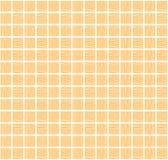 Disegnato a mano quadrato arancio senza cuciture un modello su fondo bianco fotografie stock libere da diritti