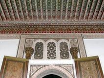 Disegni architettonici arabi Immagine Stock Libera da Diritti