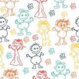 Disegni dei bambini Immagini Stock Libere da Diritti