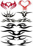 Disegni del tatuaggio Fotografia Stock