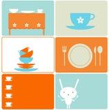 Disegni della cucina Fotografia Stock