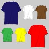 disegni della maglietta Fotografie Stock Libere da Diritti