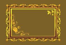 Disegni floreali Immagine Stock