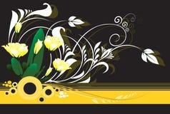 Disegni floreali royalty illustrazione gratis
