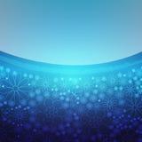 Disegni floreali blu Fotografia Stock Libera da Diritti