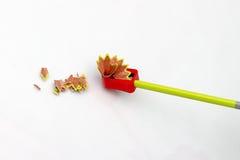 Disegni a matita ed affili immagini stock
