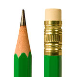 Disegni a matita la macro Fotografia Stock