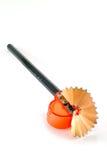 Disegni a matita la rasatura Immagine Stock