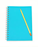 Disegni a matita sul taccuino Immagine Stock Libera da Diritti