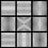 Disegni simmetrici geometrici senza giunte fissati. royalty illustrazione gratis