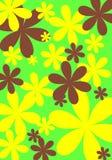Disegno 5 del fiore Immagini Stock