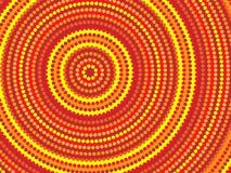 Disegno aborigeno Fotografie Stock