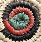 Disegno africano 2 del cestino Fotografie Stock Libere da Diritti
