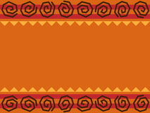 Disegno africano illustrazione vettoriale
