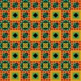 Disegno africano del reticolo Immagini Stock Libere da Diritti