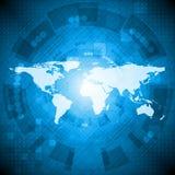 Disegno alta tecnologia astratto Fotografia Stock Libera da Diritti