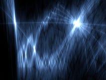 Disegno alta tecnologia moderno - indicatore luminoso dello spazio Immagine Stock
