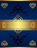 Disegno antico dell'oro dell'ottomano Fotografie Stock