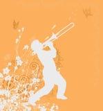 Disegno arancione Fotografia Stock Libera da Diritti